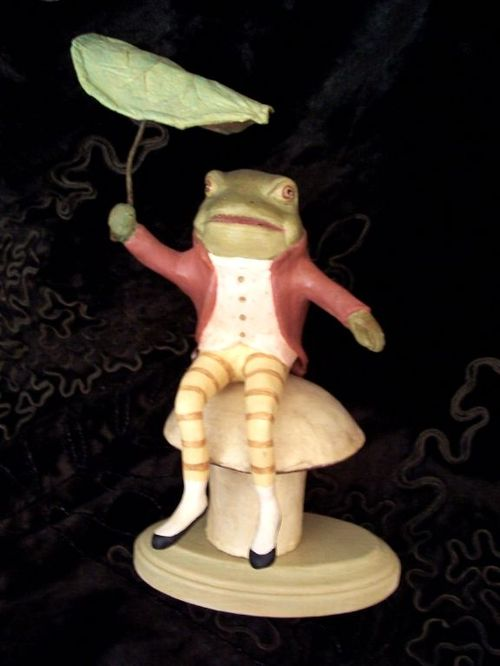 Mr. Frog Candy Container